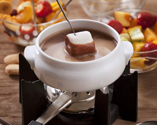 Fondue de chocolate con thermomix® (tm31, tm5)