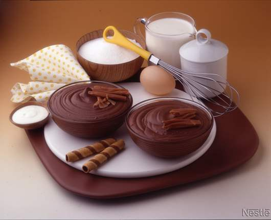 Mousse de chocolate intenso - Recetas nestle postres chocolate para fundir ...