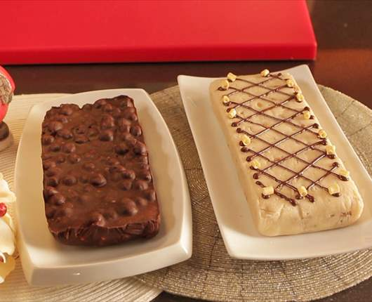 Turr n de chocolate blanco nata y nueces - Recetas nestle postres chocolate para fundir ...