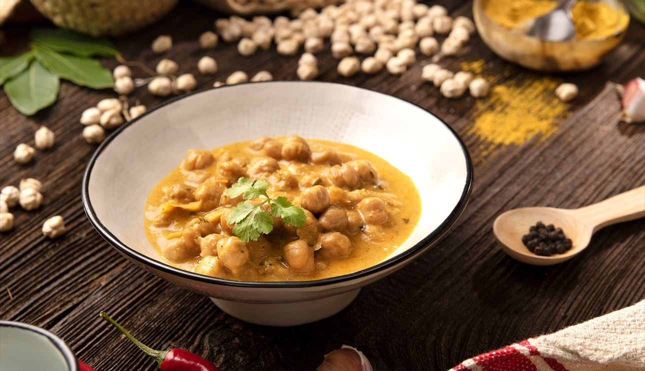 Garbanzos Al Curry Con Coco Nestlé Cocina