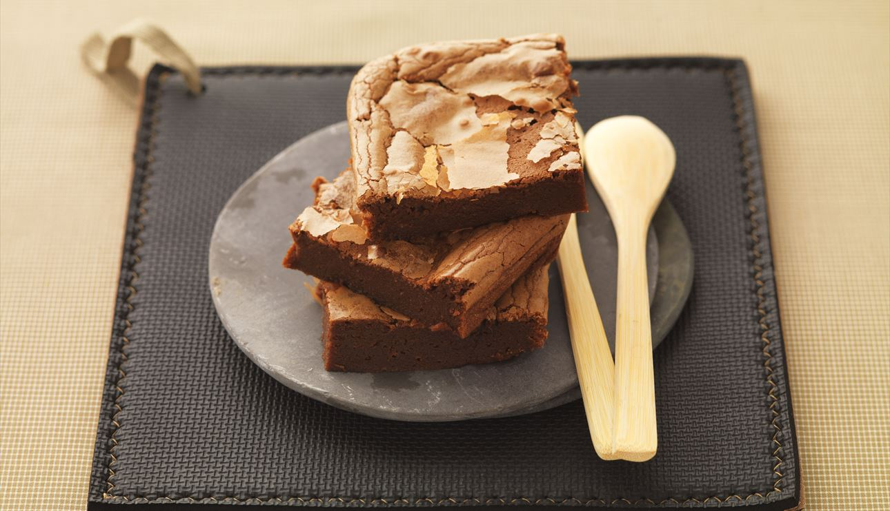 Brownie de chocolate y castañas con Thermomix® (TM31, TM5)