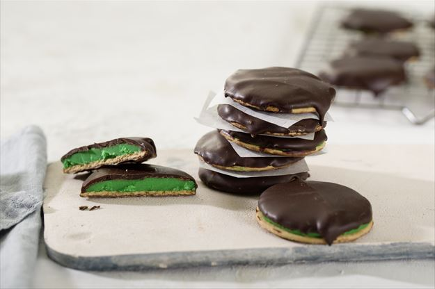 Bocaditos de menta y chocolate con Thermomix©(TM6, TM5, TM31)