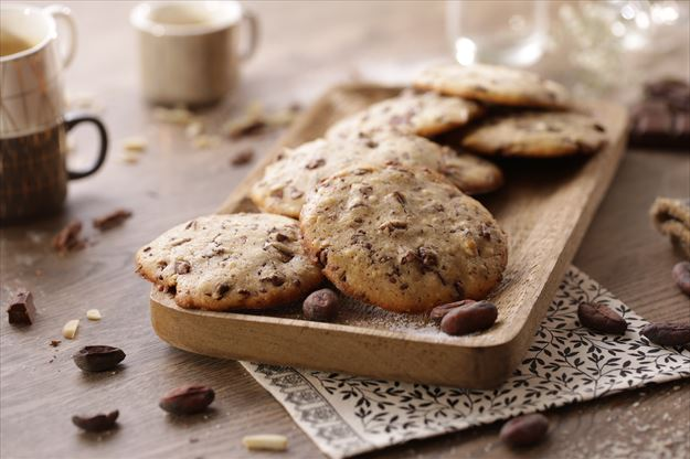 Cookies de chocolate con leche