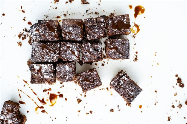 Brownie con caramelo con Thermomix©(TM6)