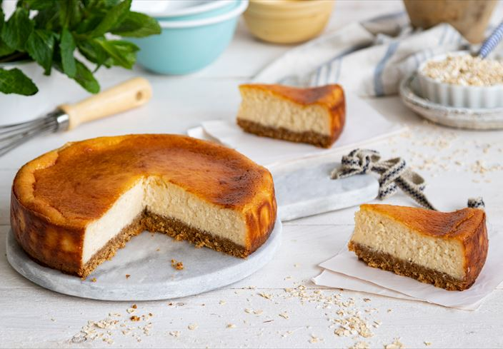 Cheesecake vegetariano
