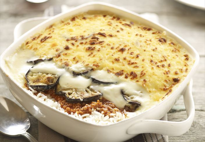 Moussaka de arroz